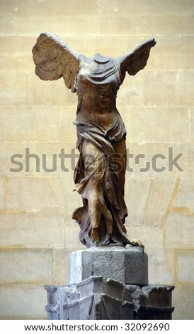 Goddess of victoria - stock photo