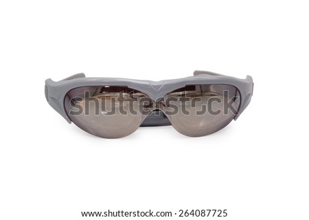 goggles isolated on white