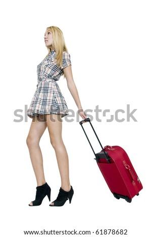 Going away - stock photo