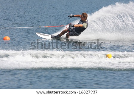 going fast - stock photo