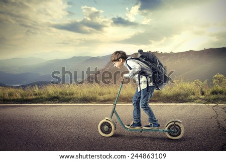 Going faster than ever before - stock photo