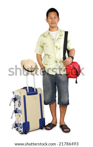 Going holiday - stock photo