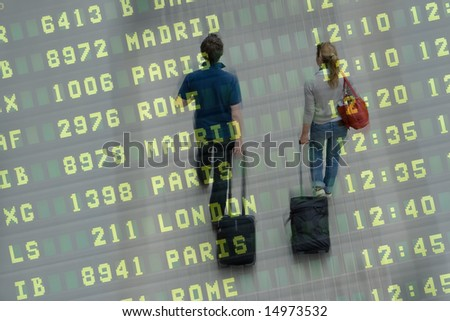 Going on a Honeymoon - stock photo