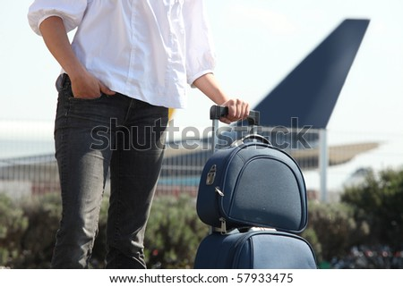 Going on a Trip - stock photo