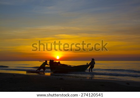 Going to the sea. - stock photo