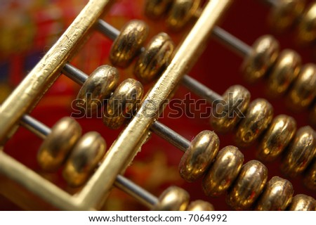 Gold Abacus