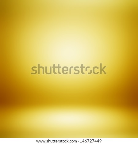 Gold abstract background - stock photo