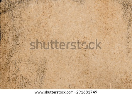 Gold antique paper worn effect texture background - stock photo