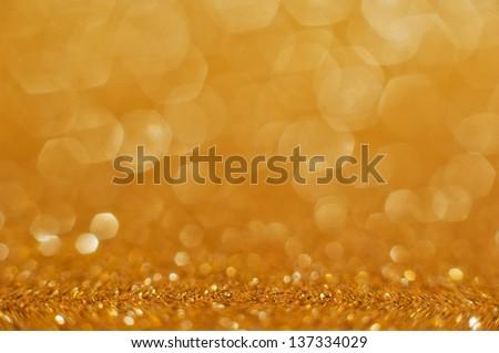gold background - stock photo