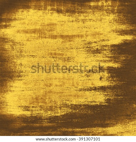 gold background grunge wall texture - stock photo