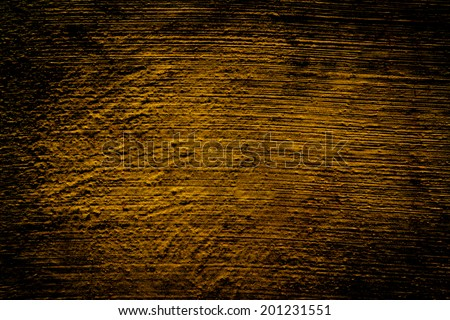 Gold background of natural cement  texture as a retro pattern wall. grunge, material, aged, rust or construction.Art pattern background - stock photo