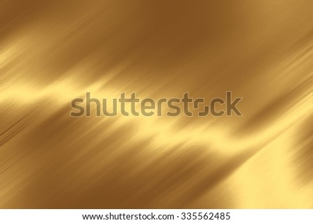 gold background shiny metal texture - stock photo