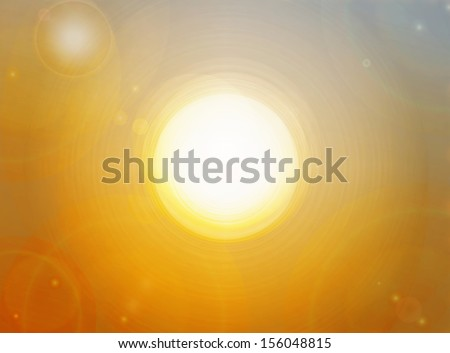 gold background with moon light.