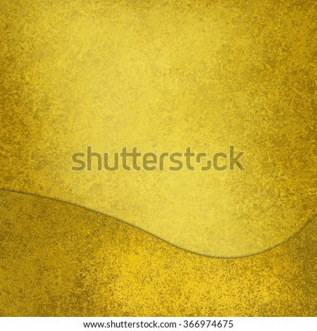 gold background with wave design element - stock photo