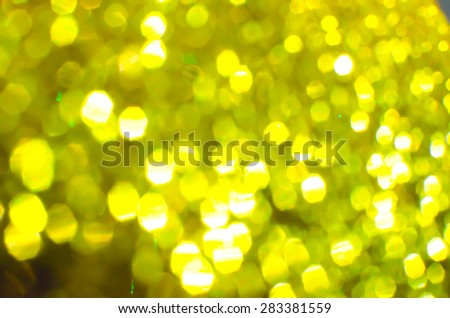 Gold bokeh collection backgrounds
