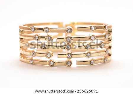 Gold Bracelet Stock Royalty Free & Vectors