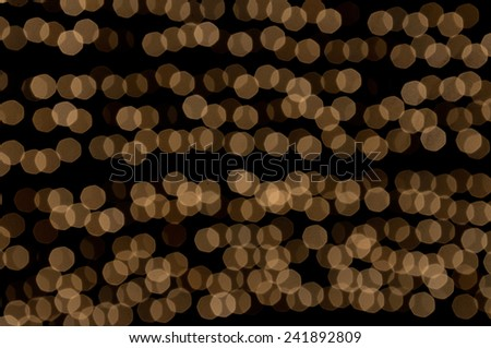 Gold bright bokhe background