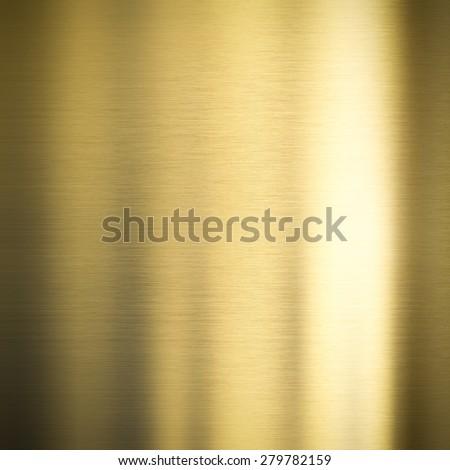 gold bronze metal background - stock photo