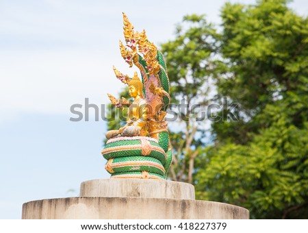 gold buddha statue isolated ,Thailand