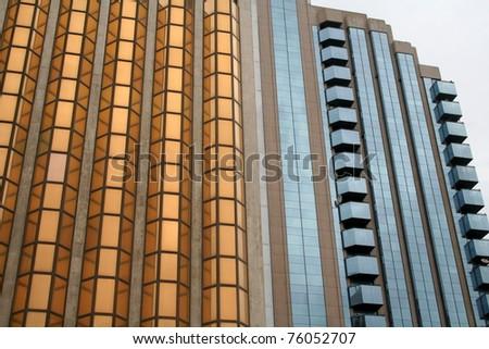 Gold Center, Skyscraper in Dubai, United Arab Emirates - stock photo