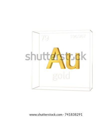 Gold chemical element atomic number atomic stock illustration gold chemical element atomic number and atomic weight chemical element of periodic table urtaz Images