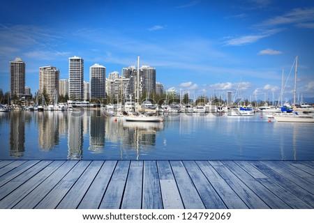 Gold Coast building - stock photo
