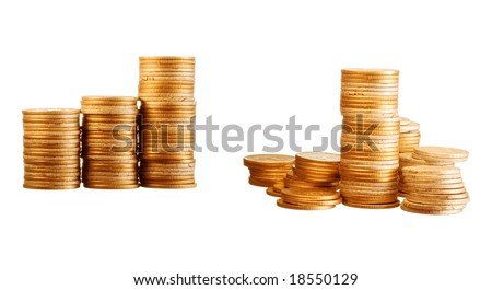 Gold coins mini set