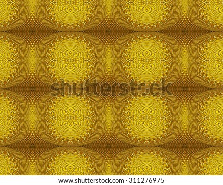 Gold color abstract background design in luxury classic and vintage style