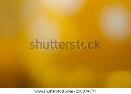 Gold color abstract blur background for web design, colorful background, blurred, wallpaper - stock photo