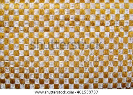 gold fiber background - stock photo
