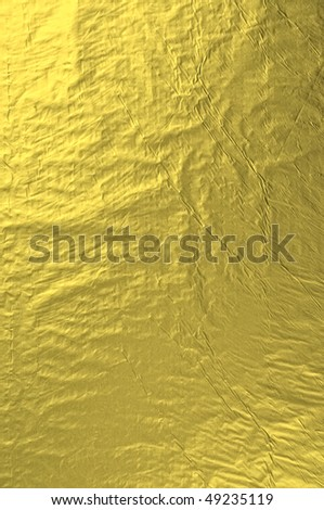 Gold foil abstract texture - stock photo