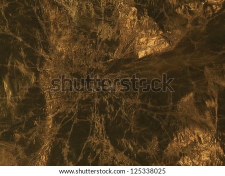 Gold foil for surface - stock photo