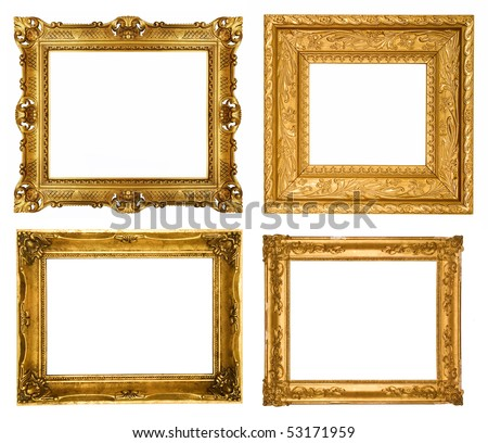 gold frames similar sets available in my portfolio