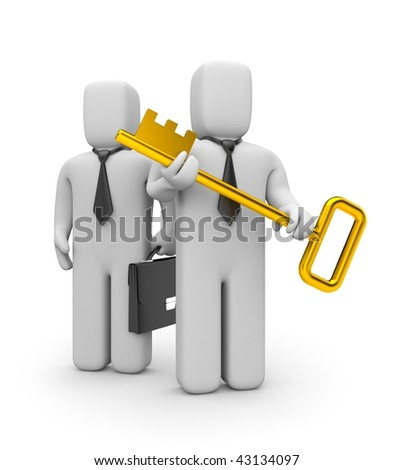 Gold key of new business
