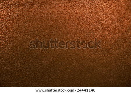 Gold leather background(high resolution) - stock photo