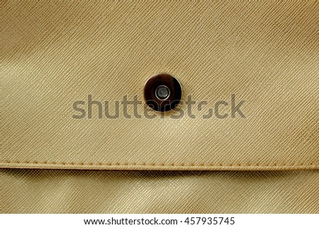 gold leather bag texture