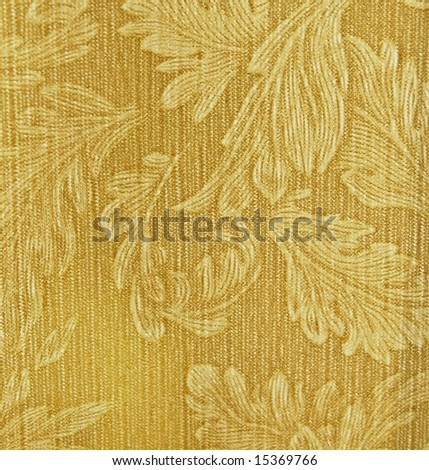 Gold Material background - stock photo