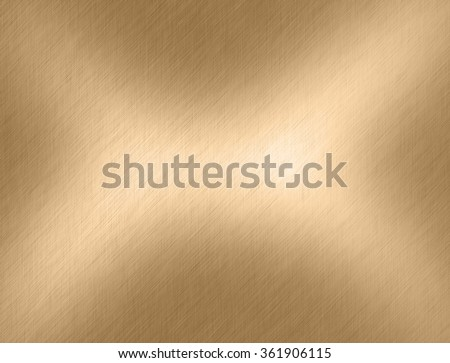 Gold metal backgrounds or metal texture - stock photo