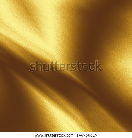 gold metal texture background with abstract lights - stock photo