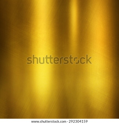 gold metal texture for design - stock photo