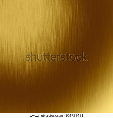 gold metal texture, scratched metal background - stock photo