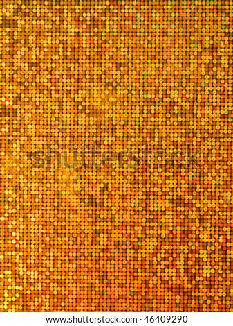 Gold metallic paper - stock photo