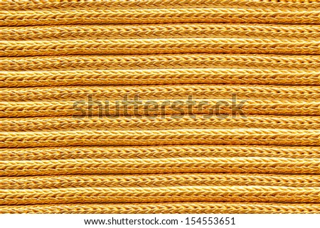 gold necklace background, twisted chain