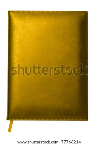 gold note book