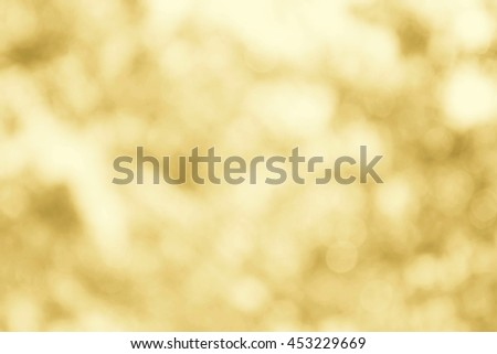 gold or yellow bokeh sky soft texture for background cotton - stock photo
