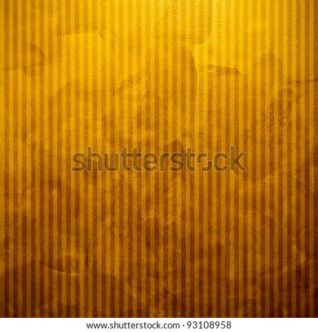 gold paint with stripe - stock photo