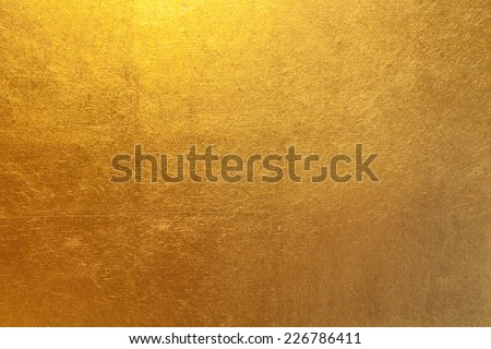 Gold paper - stock photo