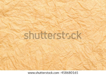 Gold Paper texture background, Gold crumpled paper texture background,