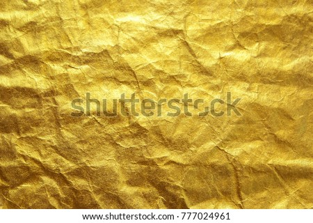 Gold Paper Texture Craft Paper Background Stock Photo Edit Now