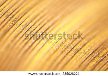 Gold powder background - stock photo